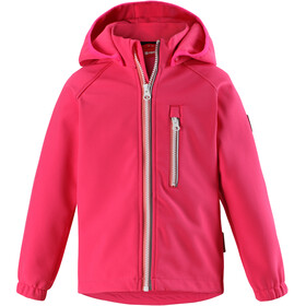 Reima Vantti Softshell Jacket Girls Candy Pink